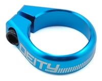 Deity Circuit Seatpost Clamp (36.4mm) (Blue) | alsopurchased