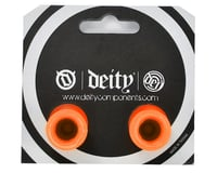 Image 2 for Deity Plunger Nylon End Plugs (Orange)