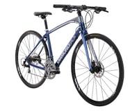 Image 1 for Diamondback Interval Carbon Flat Bar Road Bike - 2016 (Blue)