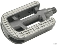 "Dimension City Platform Pedals (Grey/Black) (Plastic) (9/16"")"