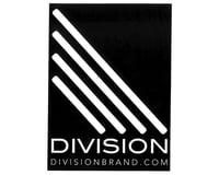 Division Larger Sticker (Black/White)