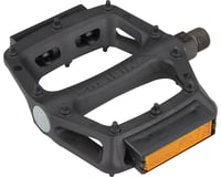"DMR V6 Pedals - Platform, Plastic, 9/16"", Black with Reflectors 