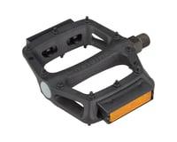 "DMR V6 Pedals - Platform, Plastic, 9/16"", Black with Reflectors"
