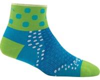Darn Tough Vermont Dot 1/4 Ultra Light Women's Sock (Teal)