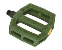 Eclat Slash Composite Platform Pedals (Army Green)