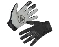Endura SingleTrack Long Finger Gloves (Black)