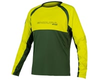 Endura MT500 Burner Long Sleeve Jersey II (Forest Green)