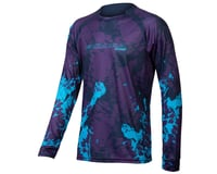 Endura MT500 Animo Long Sleeve Tee (Electric Blue)