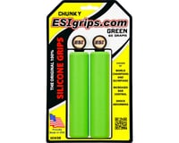 ESI Grips Chunky Silicone Grips (Green) (32mm) | relatedproducts