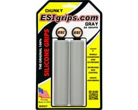 ESI Grips Chunky Silicone Grips (Grey) (32mm)