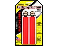 Esi Grips Racer's Edge Silicone Grips (Red) (30mm)