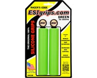 ESI Grips Racer's Edge Silicone Grips (Green) (30mm)