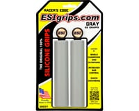 ESI Grips Racer's Edge Silicone Grips (Gray) (30mm) | relatedproducts