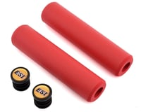 Image 1 for ESI Grips Extra Chunky Silicone Grips (Red) (34mm)