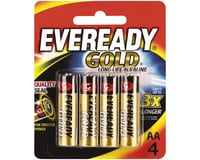 Eveready Gold AA Alkaline Battery (4) | relatedproducts