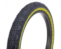 Fiction Atlas LP Night Moves Tire (Black/Reflective Yellow)
