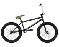 "Fit Bike Co 2021 STR BMX Bike (LG) (20.75"" Toptube) (Trans Black)"