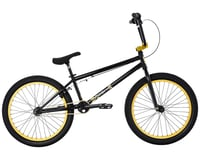 "Fit Bike Co 2021 Series 22 BMX Bike (21.125"" Toptube) (Gloss Black)"