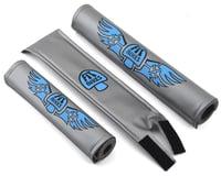 Fit Bike Co Tripper 3 Piece Pad Set (Silver/Blue)