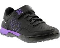 Image 1 for Five Ten Women's Kestrel Lace MTB Shoe (Black/Purple) (5)