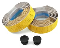 fizik Tempo Microtex Classic Handlebar Tape (Yellow) (2mm Thick)
