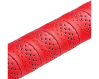 Image 2 for fizik Tempo Microtex Bondcush Classic Bar Tape (Red) (3mm Thick)