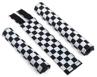 Flight Flite Checkerboard BMX Padset (Black/White)