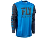 Image 1 for Fly Racing Radium Jersey (Blue/Charcoal) (S)