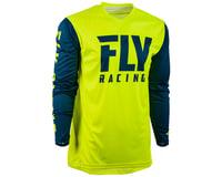 Image 1 for Fly Racing Radium Jersey (Hi-Vis/Navy) (M)