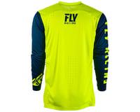 Image 2 for Fly Racing Radium Jersey (Hi-Vis/Navy) (M)