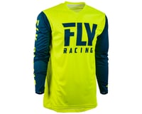 Image 1 for Fly Racing Radium Jersey (Hi-Vis/Navy) (S)