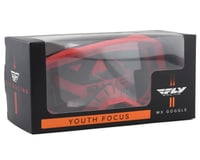 Image 2 for Fly Racing Focus Youth Goggle (Red) (Clear Lens)