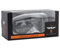 Image 2 for Fly Racing Focus Youth Goggle (White) (Clear Lens)
