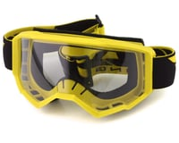 Fly Racing Focus Youth Goggle (Yellow) (Clear Lens)
