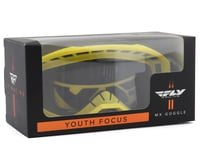 Image 2 for Fly Racing Focus Youth Goggle (Yellow) (Clear Lens)
