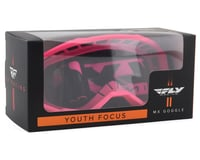 Image 2 for Fly Racing Focus Youth Goggle (Pink) (Clear Lens)