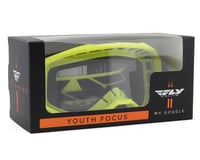 Image 2 for Fly Racing Focus Youth Goggle (Hi-Vis) (Clear Lens)