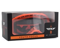 Image 2 for Fly Racing Focus Youth Goggle (Orange) (Clear Lens)