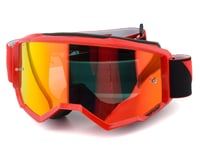 Fly Racing Zone Goggle (Red) (Red Mirror Lens)