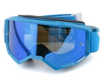 Fly Racing Zone Goggle (Blue) (Sky Blue Mirror Lens)