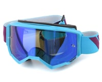 Fly Racing Zone Goggle (Blue/Port) (Blue Mirror Lens)