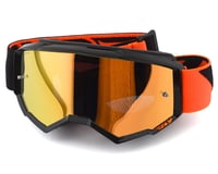 Fly Racing Zone Youth Goggle (Black/Orange) (Orange Mirror Lens) | relatedproducts