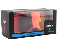 Image 2 for Fly Racing Zone Youth Goggle (Red) (Red Mirror Lens)