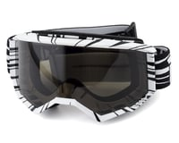 Fly Racing Zone Watercraft Goggle (Black/White) (Dark Smoke Lens)