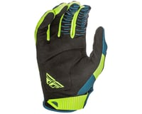 Image 2 for Fly Racing Kinetic Shield Mountain Bike Glove (Navy/Hi-Vis) (S)
