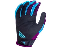 Image 2 for Fly Racing Kinetic Shield Mountain Bike Glove (Port/Blue) (S)