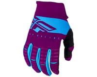Image 1 for Fly Racing Kinetic Shield Mountain Bike Glove (Port/Blue) (3XL)