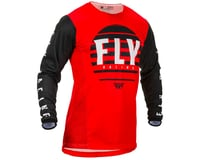 Image 1 for Fly Racing Youth Kinetic K220 Jersey (Red/Black/White) (YL) (YXS)