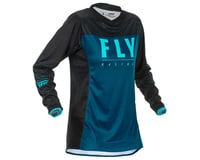 Image 1 for Fly Racing Women's Lite Jersey (Navy/Blue/Black) (YXS)