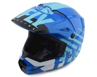 Fly Racing Kinetic K120 Helmet (Blue/White)